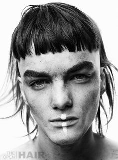 man with bowlcut and mullet man with bowlcut and mullet Mullet Haircut, Mullet Hairstyle, Assymetrical Haircut, Asymmetrical Hairstyles, Boy Hairstyles, Vintage Hairstyles, 50s Wedding Hair, Clavicut, Celebrity Wigs