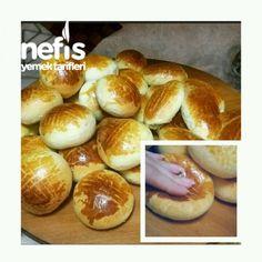 Dondurucu İçin Pofuduk Poğaça Tarifi Diy Food, Hamburger, Bread, Baking, Essen, Recipies, Brot, Bakken, Burgers