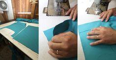 Fotos: Passo a passo: Aprenda a fazer uma capa para renovar sua cadeira - 16/06/2016 - UOL Universa Diy Sofa Cover, Chair Covers, Diy Chair, Arts And Crafts, Home Decor, Freezing Eggs, Sofa Throw, Felt Cover, Woven Chair