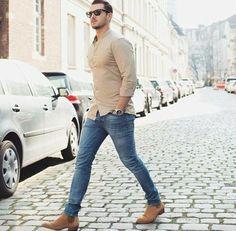 Summer street style for men