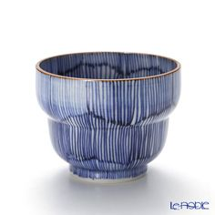 T. Nishikawa & Co. Inc - Kyoto ware / Kiyomizu ware Sakecup, Kikyo Tokusa, T0923