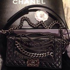 Chanel boy oh boy