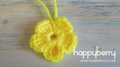 (crochet) How To - Crochet a Simple Flower version 2 - Absolute Beginners.  I'm trying to work on my crochet skills, and this was a really good simple tute that I can build on to make crochet flowers for a number of projects!