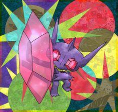 Mega Sableye by Macuarrorro.deviantart.com on @DeviantArt. #Pokemon #MegaSableye #fanart