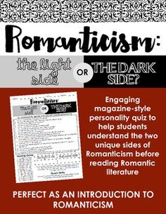 an introduction to the writers of romanticism Watch this video lesson for an introduction to romantic poetry, including descriptions of the major authors and significant works romantic poetry i'm just feeling some artful, sad emotions here.
