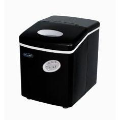 NewAir AI-100BK Countertop Portable Icemaker, Black