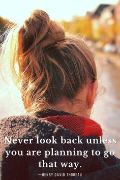 Never look back unless you are planning to go that way. #henrydavidthoreau #lifequotes #inspirationalquotes #inspiration #motivationalquotes #motivation #selfcare via @tlcforcoaches