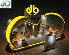 JB Exhibition booth on Behance Exhibition Booth, Behance