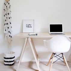 Our furniture pieces are hand-built from birch plywood right here in Somerset West South Africa. This trestle desk is R3450 (excl. shipping) and available through our online store www.monoshop.co.za