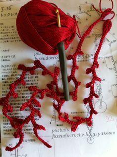 Come Vi Avevo Promesso Ho Preparato Un T - Diy Crafts - hadido Crochet Fish, Freeform Crochet, Crochet Art, Love Crochet, Irish Crochet, Crochet Motif, Crochet Flowers, Crochet Stitches, Crochet Patterns