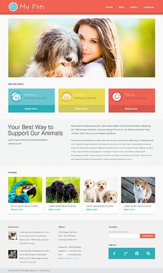 Pet #wordpresstheme