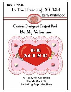 FreeBEE Friday - Be My Valentine Lapbook From In The Hands Of A Child - *LIMITED TIME*