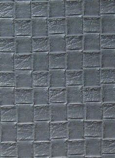 Nassimi Bottega Faux Leather - Bluestone