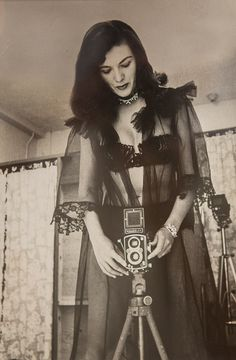 Self-Portraits of the Woman Who Made Bettie Page Famous