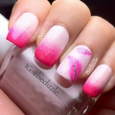 Pink feather anyone? - @bedizzle