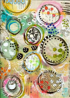 """Every Life Has a Story!"" - {Roben-Marie Smith} - Circle Collage..."