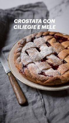 Italian Recipes, Tart, Cherry, Healthy Recipes, Cookies, Biscotti, Desserts, Blog, Crack Crackers