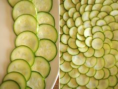 zucchini carpaccio 2 Zuchinni Chips, Zucchini, Summer Dishes, Salads, Vegetables, Summer Entrees, Vegetable Recipes, Salad, Veggies