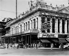 1940's photo of the Crescent Billiard Hall at Canal Street and St ...