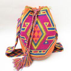 """Costa Rica"" Hand Woven Mochila Bag"