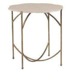 Gillian Antique Gold Cream Limestone Flower Top End Table by Kathy Kuo Home, http://www.amazon.com/dp/B00AKKG1FI/ref=cm_sw_r_pi_dp_94Nlsb0C1BF9N