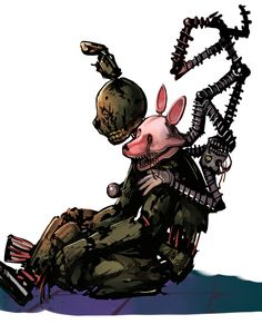 Springtrap with Mangle from Tumblr