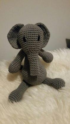 Crochet amigurumi /virkattu norsu