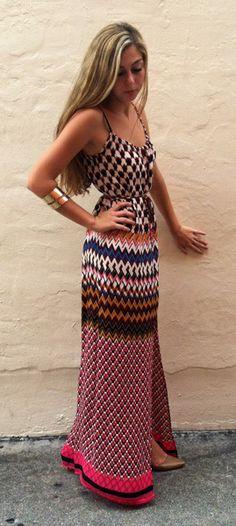 Chevonita maxi dress
