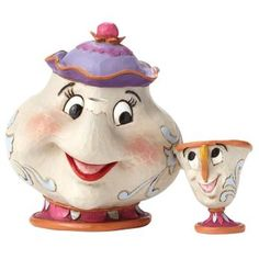 Beauty and the Beast Mrs. Potts & Chip - A mother's love Figurine de collection Standard