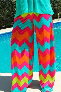 Taste The Rainbow Palazzo Pants $32.99!! #SouthernFriedChics
