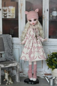 Mori-style outfit for Monster High / EverAfterHigh  doll 1/6 size