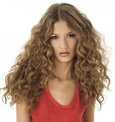 permanente cheveux mi long | Permanent | Pinterest | Coiffures