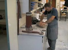 This is a demonstration of how to use the extruder. This demo was given during class on Aug. 31, 2009 by Professor Brian Harper