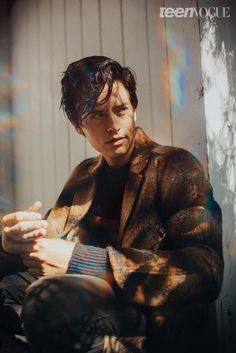 People Are Losing Their Damn Minds Over Cole Sprouse's New Photo Shoot