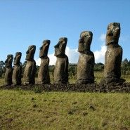 My love for Easter Island knows no bounds.  I would love to be there among the MOAI!