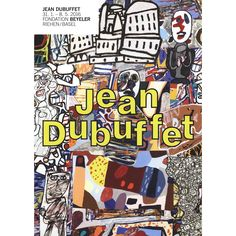 Refurbished Jean Dubuffet Mele Moments 2016 Poster, 16.5 x 11.75 inches