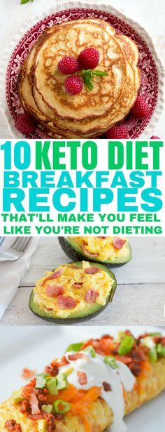 10 Delicious Keto Breakfast Recipes to help you start your day off burning fat! | Low Carb Breakfast Recipes | #ketogenicrecipes #ketorecipes #ketobreakfastrecipes #lowcarbrecipes