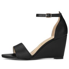 a1bcf89da Allegra K Women s Buckle Ankle Strap Wedge Sandals -- Check out this great  product.