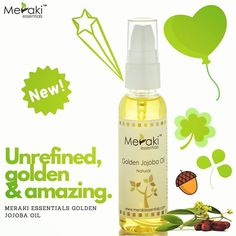 Meraki Essentials is one of the most trustworthy, well known, experiences and high rated Essential Oil brand in India. We offer pure,Natural essential oils & Carrier oils for your natural lifestyle. Best Online Essentials oil Store, Order now! Essential Oil Carrier Oils, Essential Oil Brands, Natural Essential Oils, Natural Lifestyle, Meraki, Jojoba Oil, Wax, Essentials, Pure Products