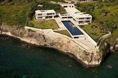 Kimball House is an exceptional caribbean destination, the combination of a brilliantly designed contemporary villa and a particularly moving oceanfront landscape. It features: accomadation for up to 18 people, a personal chef, a bartender, and a ful Kimball House, Surf House, Beach House, Kb Homes, Dominican Republic, Luxury Villa, Luxury Life, Luxury Homes, The Good Place