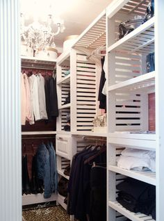 FRENCH COUNTRY COTTAGE: A little bit glam- Closet Makeover part one