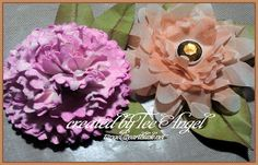 One Scrap at a Time: Cricut Flower Shoppe Flowers - Two More! Video