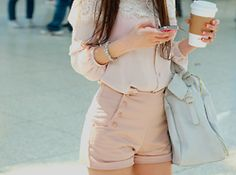 Love these gorgeous high waisted shorts