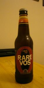 Brewery Ommegang Rare Vos Amber Ale Belgian Pale Ale, Cooperstown, New York 6.5%ABV