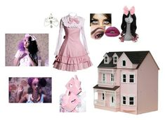 """""""Doll House"""" by thespine ❤ liked on Polyvore featuring Hot Topic, Y.R.U., Streets Ahead, Dollhouse, melaniemartinez and Crybaby"""