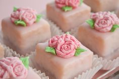 Rose Petit Fours
