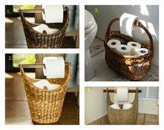 Donde poner el papel higienico en el baño