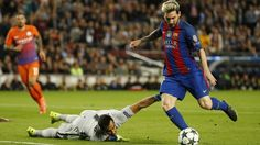 Messi Barcelona x City (créditos: Reuters)