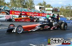 19 October 2013 Super Sportsman event at Willowbank Raceway - Knijff Earthmoving Modified winner Scott Bettes - for a full image gallery go to www.dragphotos.com.au