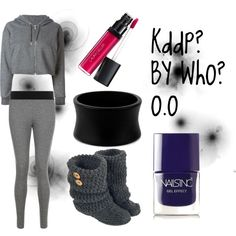 Simple by nansylee on Polyvore featuring polyvore, beauty, Laura Geller, Nails Inc. and Golden Goose